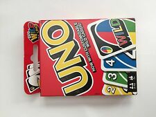 Uno Get Wild Card Pack Game with Customizable Wild Cards
