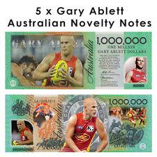 5 x Gary Ablett - One Million Dollar Novelty Money Note