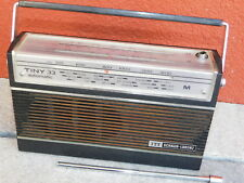 VINTAGE ancien POSTE TINY 33 automatic ITT SCHAUB LORENZ alt TRANSISTOR RADIO