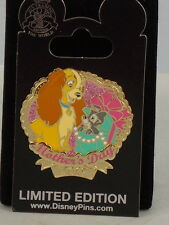 Disney Parks Limited Edition 4000 Mother'S Day 2015 Lady & The Tramp Trading Pin
