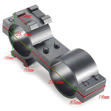 Torch Laser Mount 25mm x 25mm Rifle Scope Flashlight Bracket For Hunting free pp