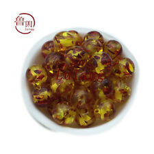 Wholesale Lot 8mm Resin Amber Round Spacer Loose Beads 100% high quality