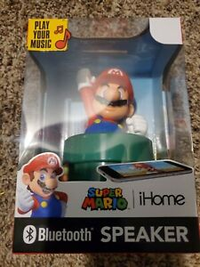 Super Mario iHome Bluetooth Speaker Nintendo 2020 -Brand New- Unopened- Rare