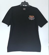 Harley Davidson Men's Tee Shirt Size Large Black Short Sleeve Nashville Eagle