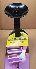 RV/Camper/Trailer - Leisure Time NEW Adjustable Fold Out Step Stabilizer, BLACK