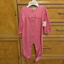 infant girls Juicy Couture pajamas feet sleepwear 6/9 month brand new NWT $48.00