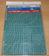 Tamiya 74118 Cutting Mat (A4 Size/Green) for RC & Plastic Kits, NIP
