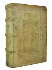 THE COMEDIES OF ARISTOPHANES   1586   Blind Stamped Pigskin, Renaissance Binding