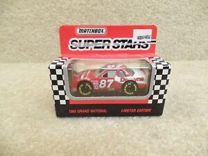 1993 Matchbox NASCAR 1:64 Scale Diecast Joe Nemechek Dentyne Chevy Lumina #87