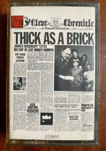 MC - Jethro Tull / Thick as a Brick - 1972 Chrysalis - 080 1003