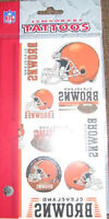 Cleveland Browns Pkg of 10 Temporary Tattoos