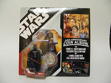 Star Wars 30th Anniversary COIN ALBUM DARTH VADER Figure