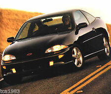 1997 Chevy CAVALIER Brochure / Catalog with Color Chart: RS,LS,Z24,