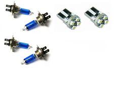 4 ampoule xenon superwhite H7 + H7 + 2 AMPOULE 4 LED PEUGEOT 406 de 1995 a 2004