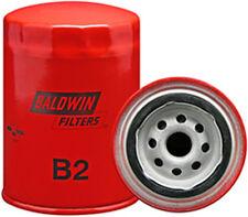 Set of 2 B2 Baldwin Engine Oil Filter
