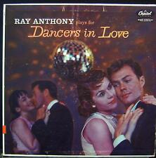 Ray Anthony - Dancers In Love LP VG+ T 786 1st Vinyl 1957 Record