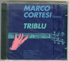 "MARCO CORTESI QUINTETTO ""Triblu"" - CD Schweiz Import - NEU &OVP ,NEW/Sealed"