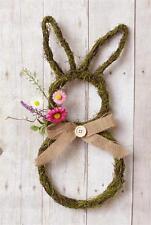 Primitive Country Rustic Natural Twig Decorative Door/Wall Easter Bunny