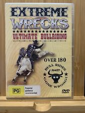 Extreme Wrecks Ultimate Bullriding DVD Region All Rare