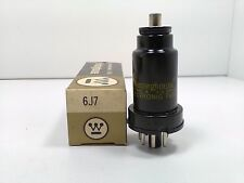 WESTINGHOUSE 6J7 Metal Audio VACUUM TUBE Tested 110% on BK 747 #E.3309