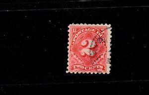 US Stamp SC# J60.  Used.  1916