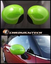 GREEN Mirror Cap Covers for RHD 2014 up MK3 MINI Cooper/S/ONE F55 F56 RHD Model
