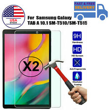 2 PACK FOR Samsung Galaxy Tab A 10.1 2019 T510 / T515 Tempered Glass Protector