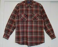 Pendleton Cotton Hiker Shirt Lg Mens Button Down