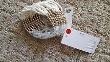 LAST ONE   NEW H&M Beads Design Gold Bracelet Jewelry Fashion NWT