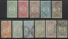 French Morocco, Q1-11, mint & used, complete Parcel Post