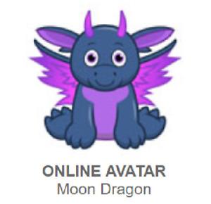 Webkinz Classic Moon Dragon *Code Only*