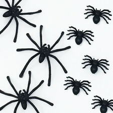 Fake Spider Black Toy Halloween Large Small Funny Joke Prank Props Party Gift