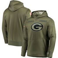 NFL Green Bay Packers Hooded Sweater Thicken Unisex Football Training Hoodie