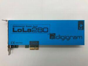 Digigram LoLa280 - Multi-Channel Sound Card (Half Height Bracket)
