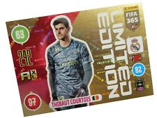 PANINI FIFA 365 2021 LIMITED THIBAUT COURTOIS - REAL MADRID