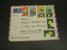 Cameroon 1969 airmail cover to switzerland *30232