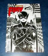 MISS FURY #8 Bilquis Evely B/W RARE variant 1st print DYNAMITE COMIC 2014