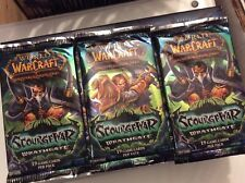 World Of warcraft TCG 3 Scourgewar Wrathgate Booster Packs
