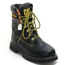 63 Schnürschuhe Stiefelette Walking Machines Boots Leder Caterpillar 37