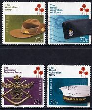 Australia 2014 ADF Defense Force a Century of Service Set of Stamps P Used S/A