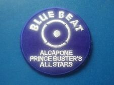 RUDE BOY SKINHEAD SKA SEW / IRON ON PATCH:- BLUE BEAT PRINCE BUSTER'S ALL STARS