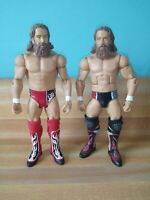 WWE/WWF Mattel Elite/Basic Daniel Bryan loose Wrestling action figures lot of 2.