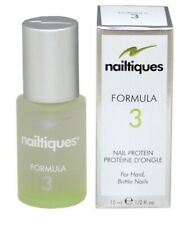 SALE! *NEW*Nailtiques Formula 3 Nail Protein for Hard Brittle Nails 15 ML/0.5 OZ