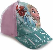 ragazze Disney Frozen Elsa Personaggio Baseball Cappello CM306 54cm