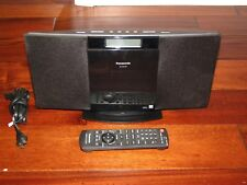 Panasonic Compact Stereo System CD/iPod dock/AM-FM Radio/MP3 SC-HC20 W/ Remote