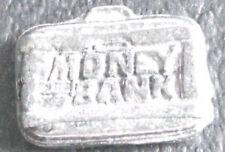 Hasbro MONOPOLY WWE Money Bank Briefcase pewter mini metal token mover pawn.
