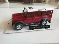 Hongwell Land Rover Defender in Red on 1:43