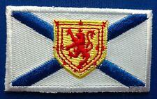Nova Scotia Flag Patch Embroidered Iron On Applique
