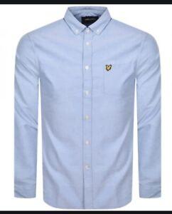 LYLE & SCOTT Long Sleeve Casual Button Down Oxford Shirt
