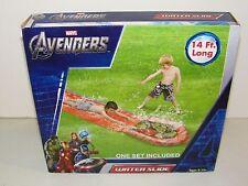 Marvel Avengers Wet N Wild Water Slide 14 Feet Long Outdoor Water Fun New in Box